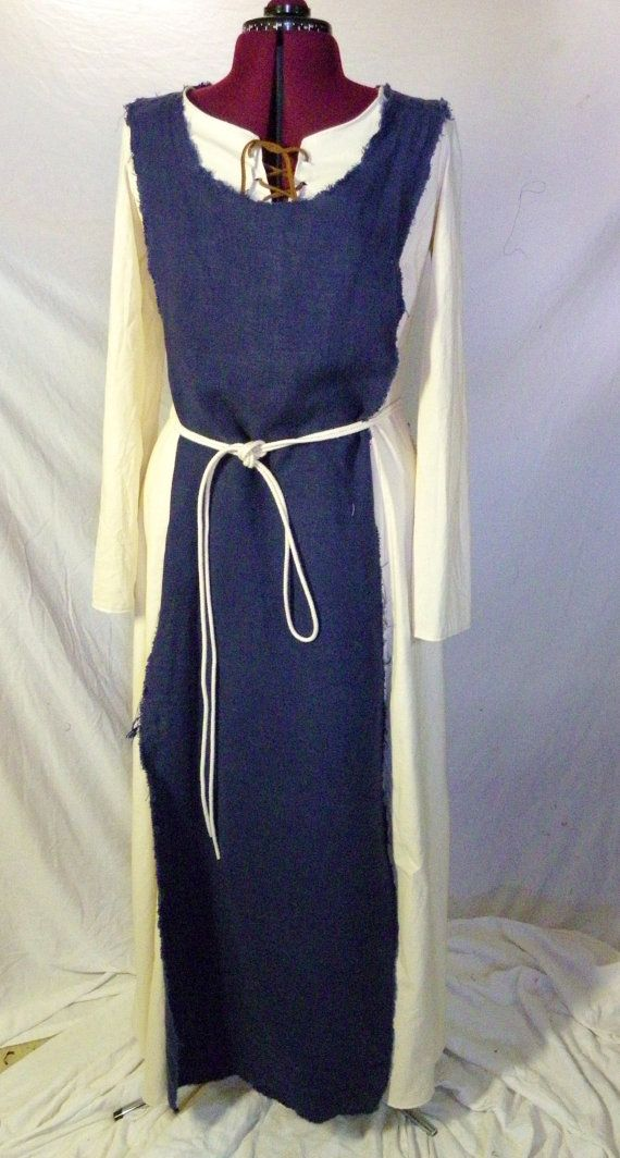 Made to Order Medieval Peasant Dress Murron by SewHistorical, $150.00