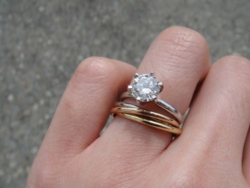 Cartier Trinity pair Trinity ring Engagement and Ring