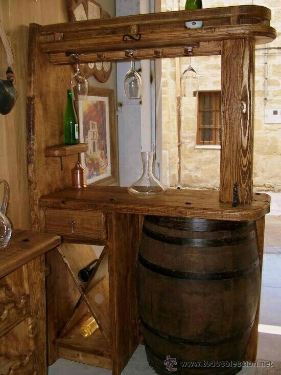 Cocina cocinas in 2019 barras de cocina rusticas - Muebles cocinas rusticas ...
