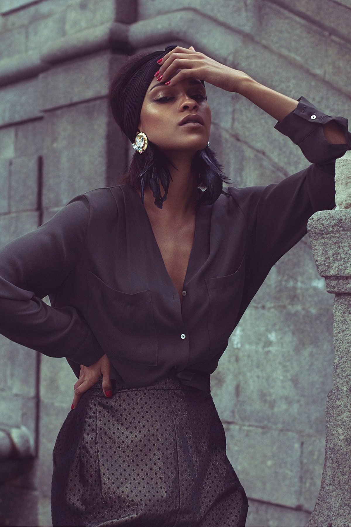 Fashion Editorial URBAN AMAZON by #MayteLuengo on Behance