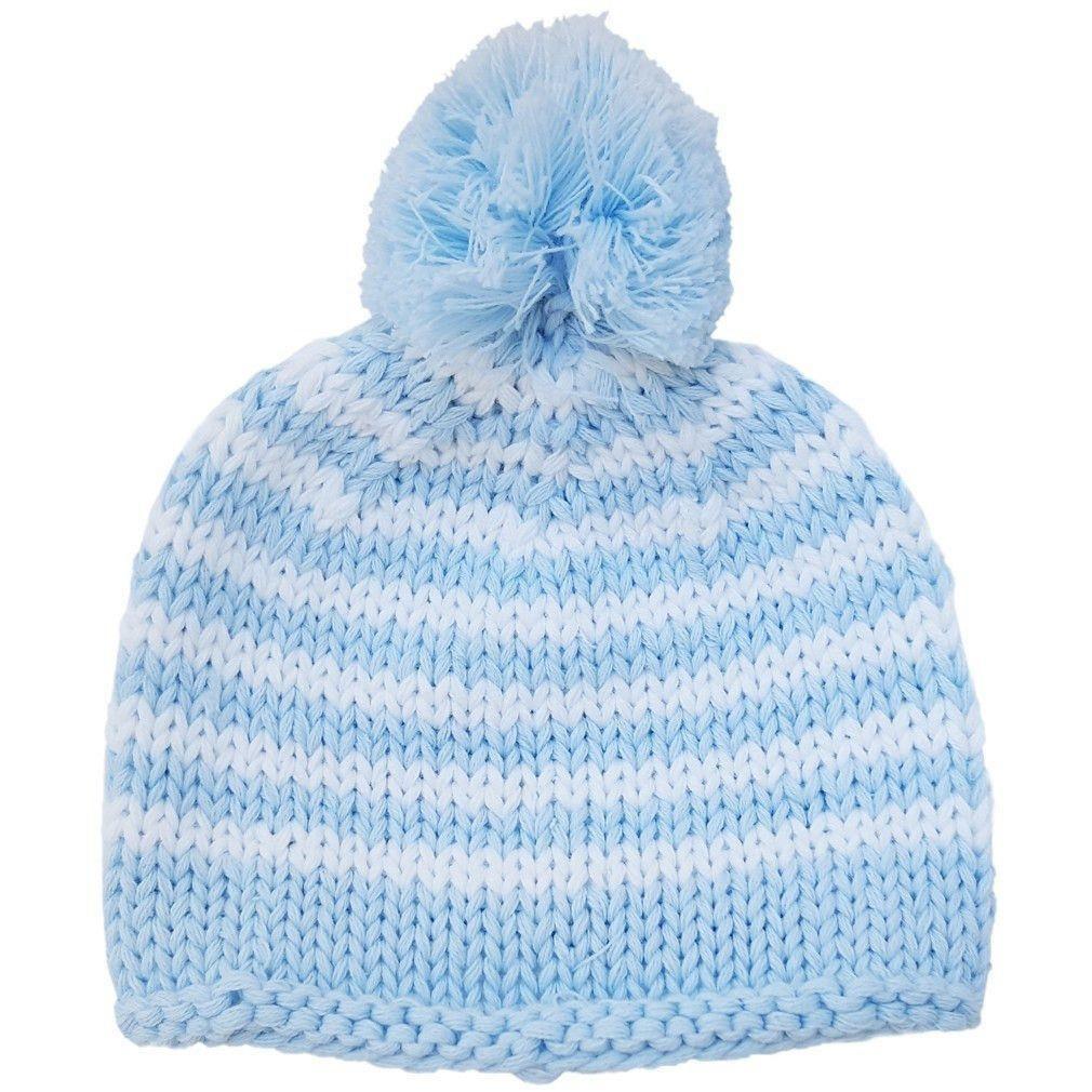 Newborn Pom Pom Beanie Hat