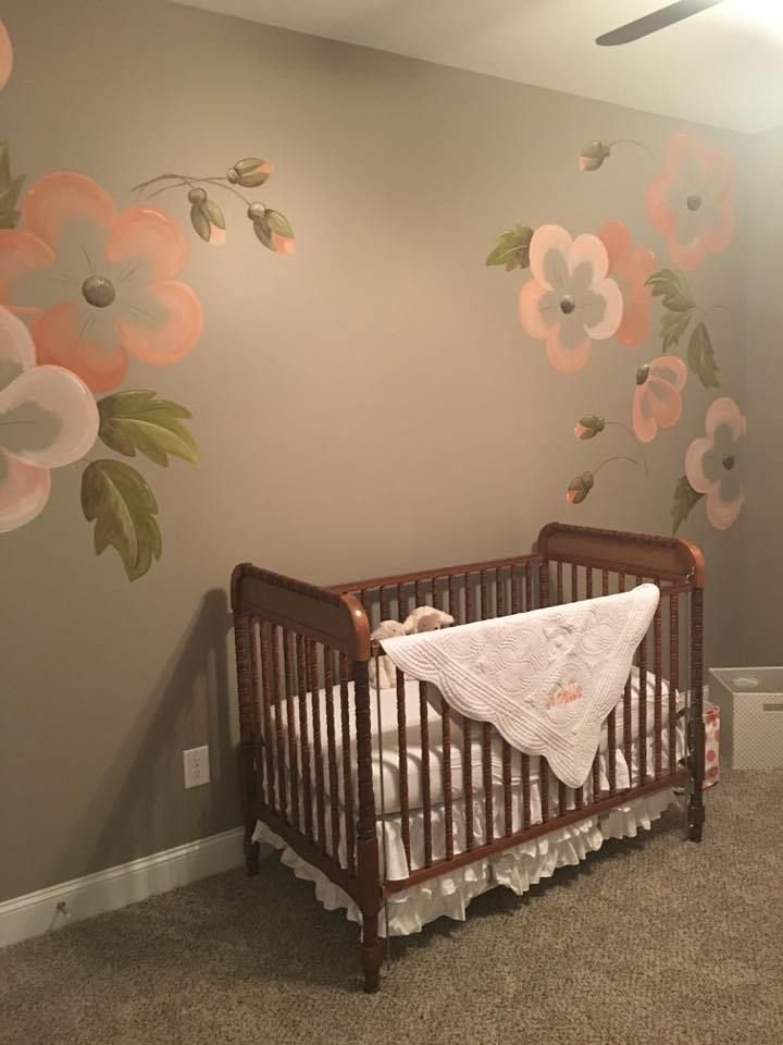 s nursery nursery flowers decor on Elle Decor Nursery id=37530