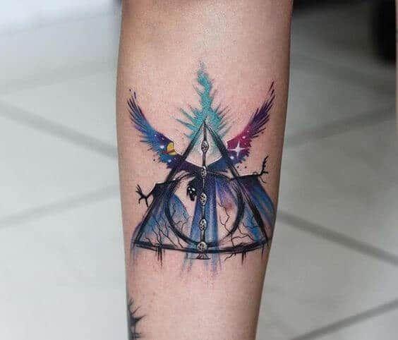 Harry Potter Tattoos For Men Tattoos For Guys Harry Potter Tattoos Tattoos