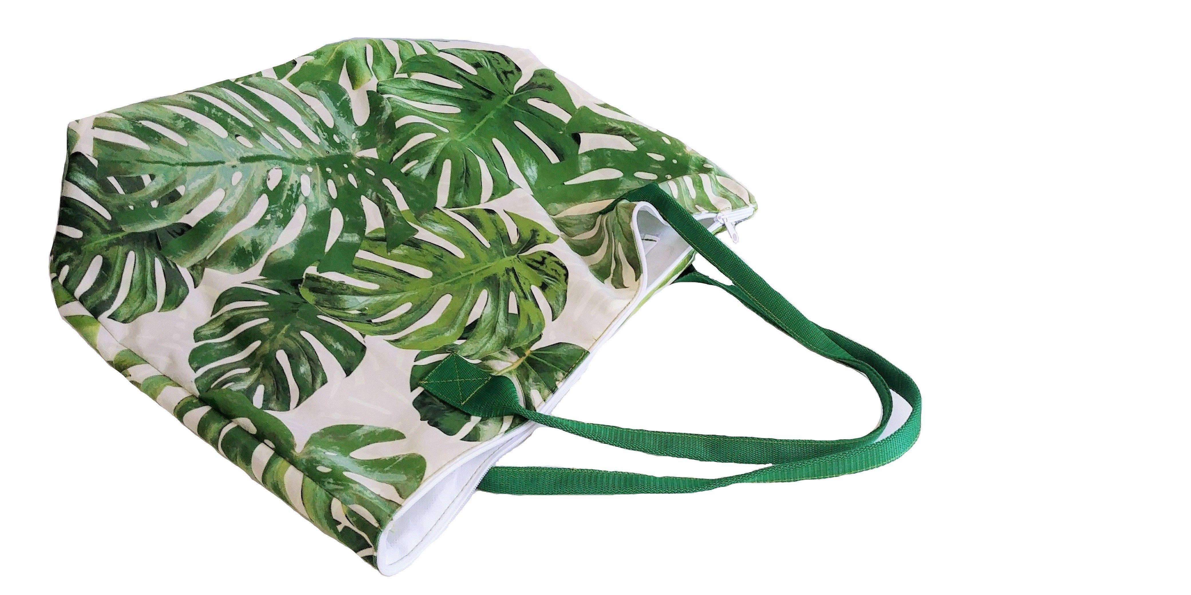 Torba Ekologiczna Duza Liscie Monstery Bags Drawstring Backpack Backpacks