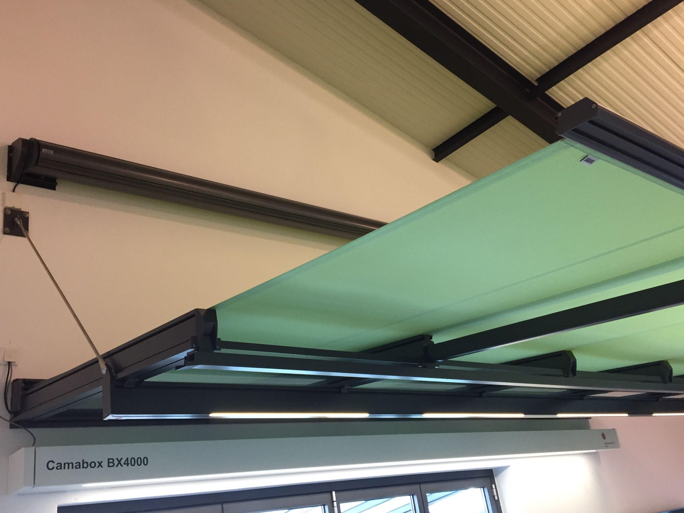 Glasvordach Mit Markise Sonnenschutz Klaiber Ardon Gp2600