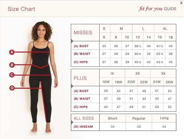 Fit for you how to measure from monroe and main