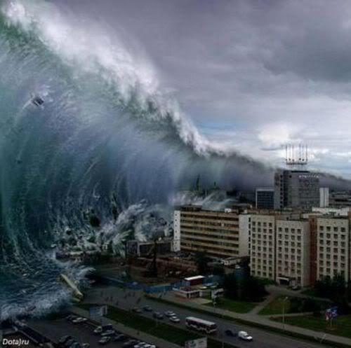 Photos Of Thailand Tsunami Wave Biggest Tsunami Ever Recorded Tsunami Waves Tsunami Natural Disasters