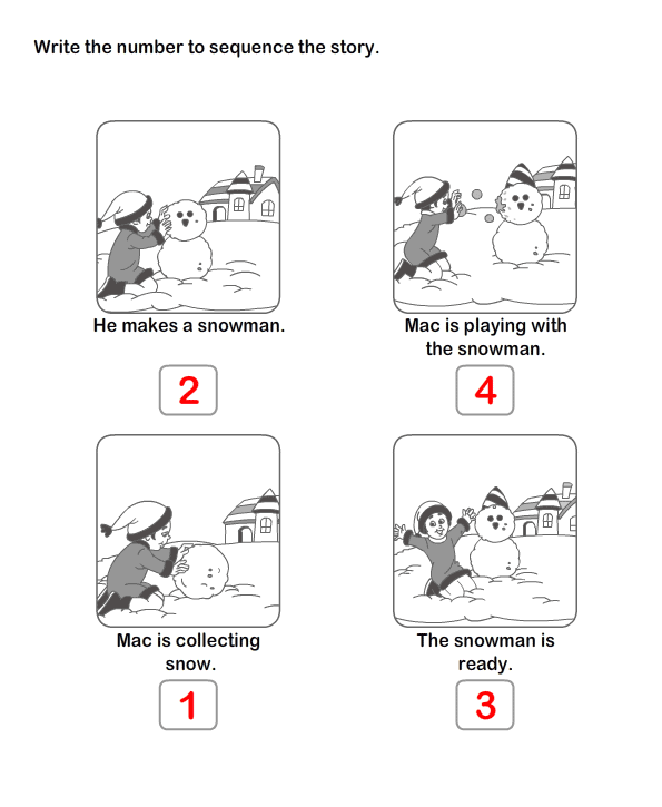 Picture Sequence Worksheet Grade 1 And Grade 2 Educational Games Sequencing Writing Activities Picture Sequence Worksheet