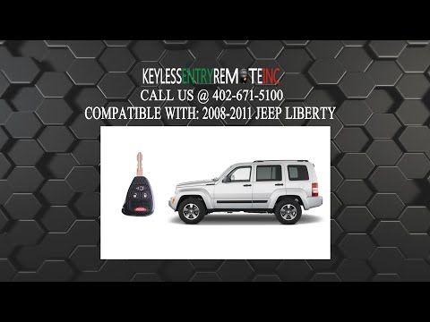 How To Replace Jeep Liberty 2008 2011 Key Fob Battery Jeep