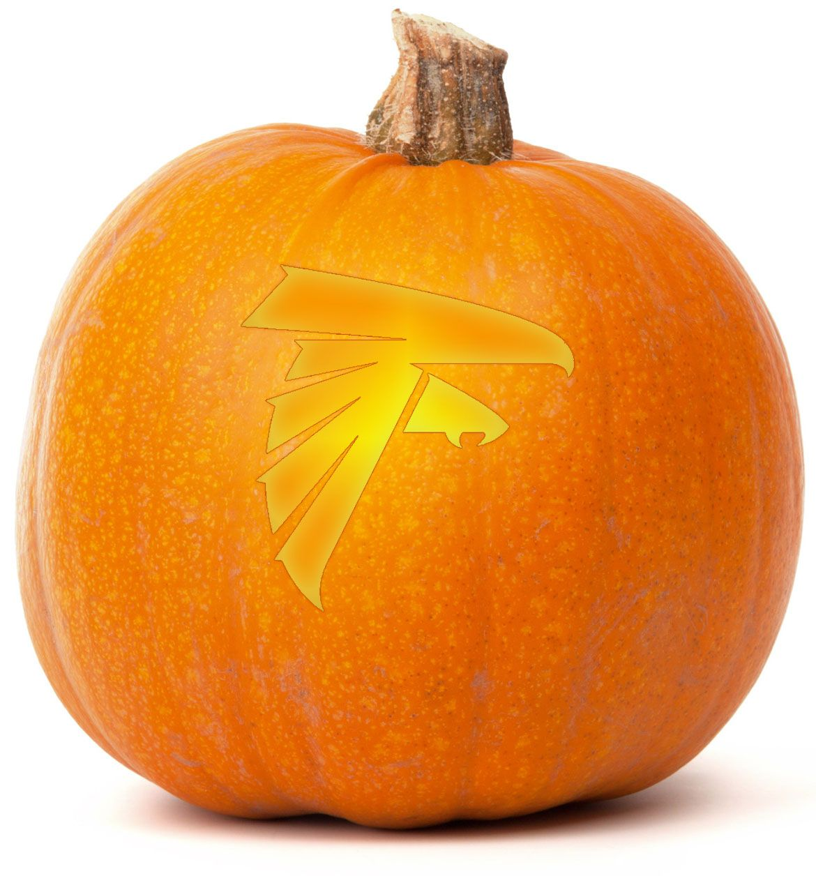 Download Our Free Atlanta Falcons Pumpkin Carving Template Browse