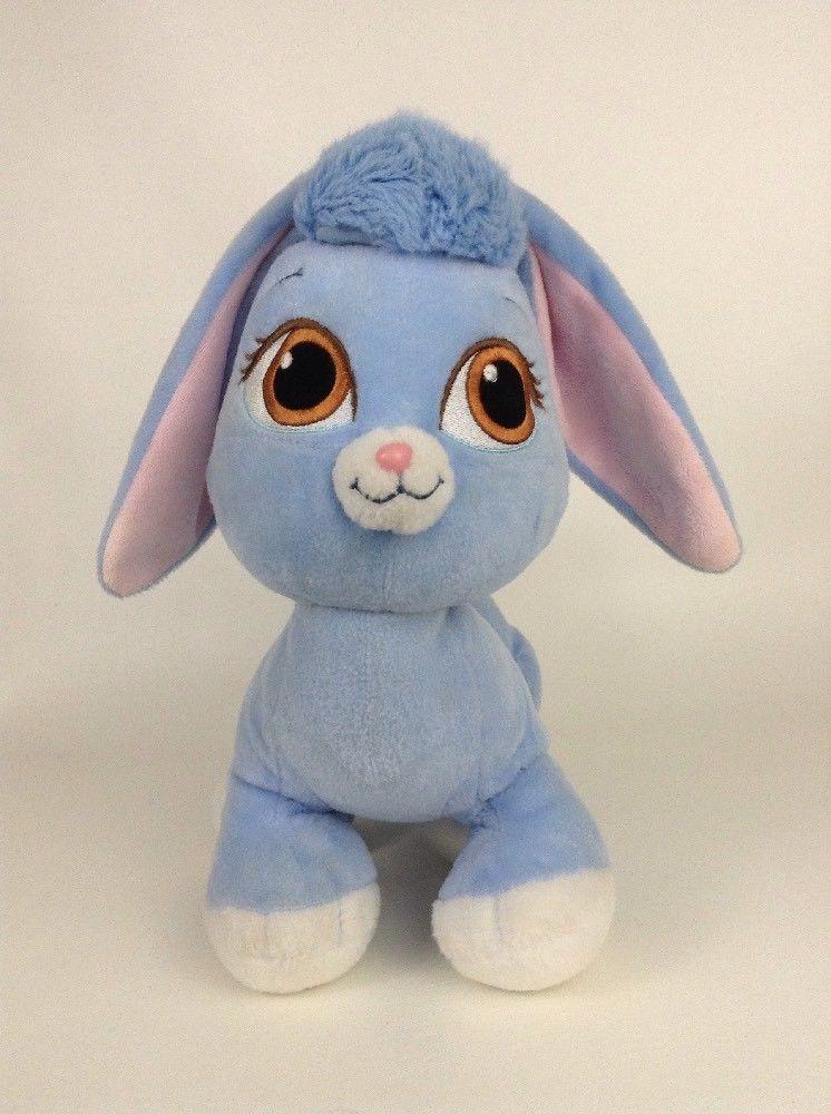 "Build A Bear Palace Pets 15"" Berry Rabbit Blue"