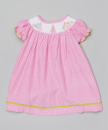 Another great find on #zulily! Pink Princess Bishop Dress - Infant, Toddler & Girls #zulilyfinds