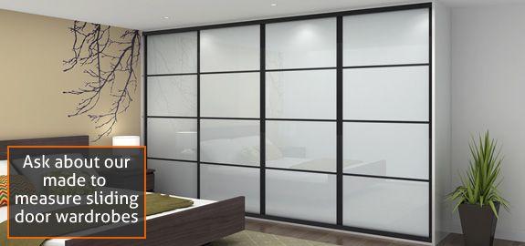 ikea pax white glass black frame - Google zoeken | Ideas for the ...