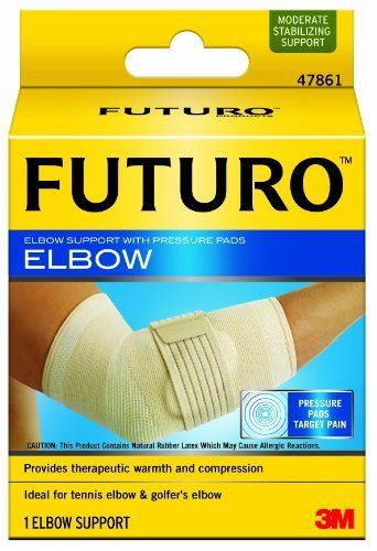 Futuro Elbow Support With Pressure Pads Medium By Futuro 11 99 You Live Your Life How You Want To And You Re Not About T With Images Elbow Support Supportive Pressure
