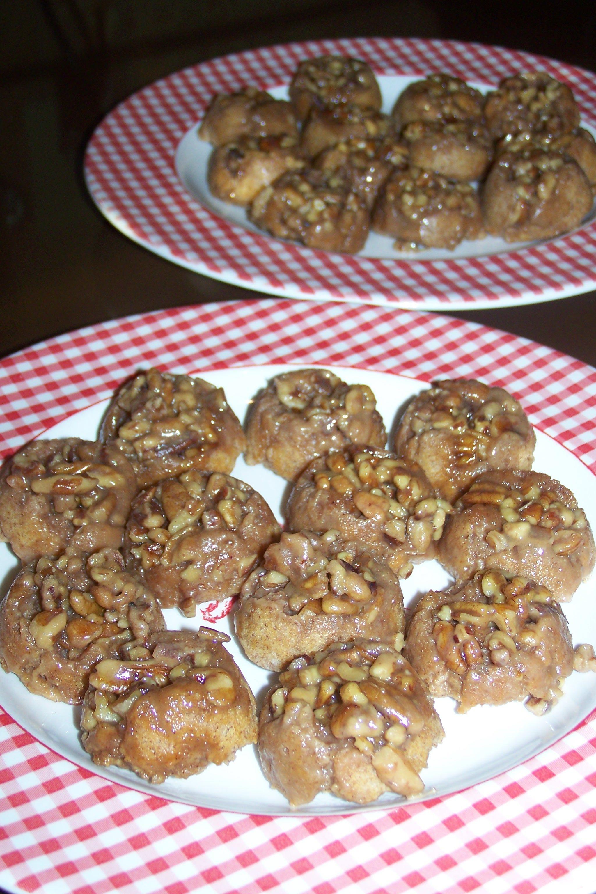 Carb Pecan Muffins Sticky Buns - Carbquik