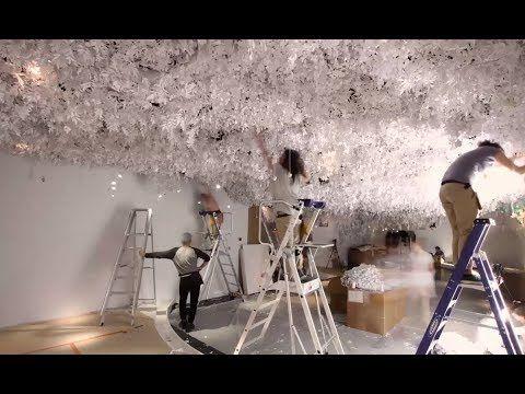 Christian Dior, Designer of Dreams Exhibition - Masks by Stephen Jones - YouTube