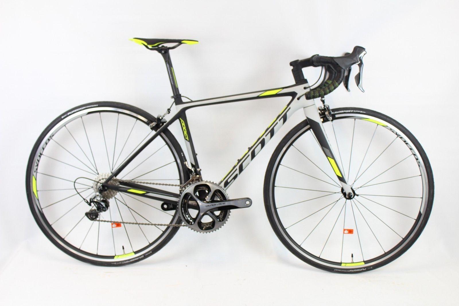c6dd3a585b6 2017 Scott Addict 10 Carbon Fiber Dura Ace 9000 Road Bike XXS 47cm #roadbike