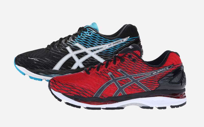 9dd39a516c6b ASICS GEL-Nimbus 18 Running Shoes Sale The sale going on these days for the  ASICS GEL-Nimbus 18 proves once again that winter is the best time to gear  up ...