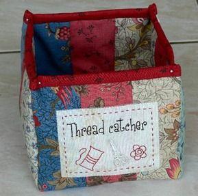 Thread catcher box
