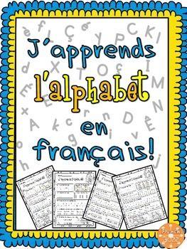 lalphabet french alphabet pour maternelle 1k 1 activits idales