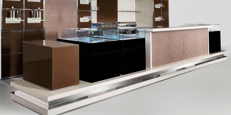 Immagini arredamento ~ Cristalbar glamour by isa interior arredamento bar pub