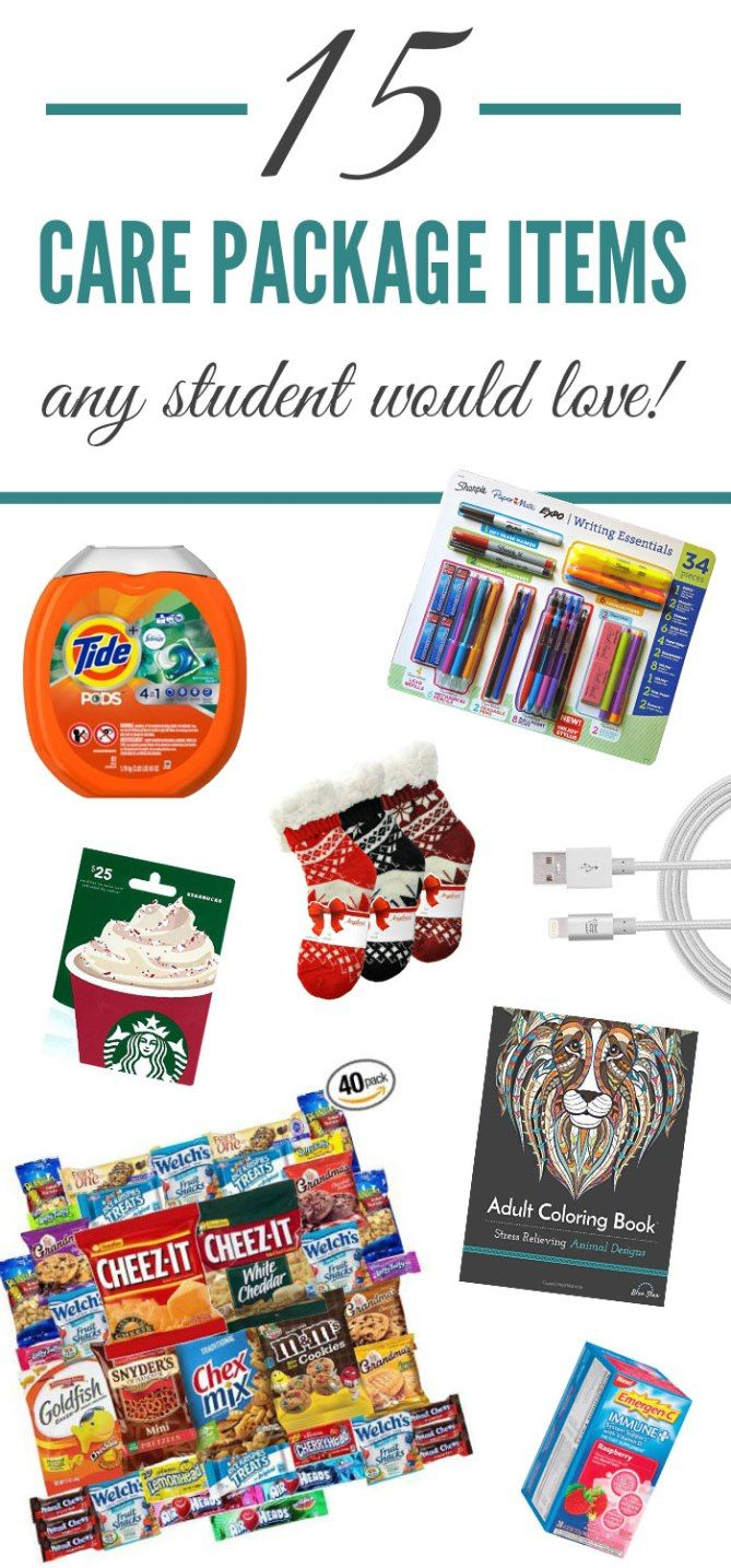 15 College Care Package Items Any Student Would Love Society19 College Student Care Package College Care Package Diy Care Package
