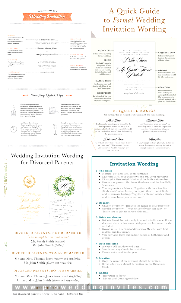 Formal Wedding Invitation Wording Etiquette That You In 2020 Wedding Invitation Etiquette Words Wedding Invitation Wording Formal Wedding Invitation Wording Templates
