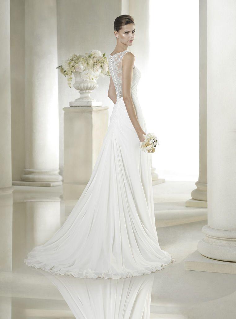 vestido de novia de san patrick modelo sadira | tu vestido de novia