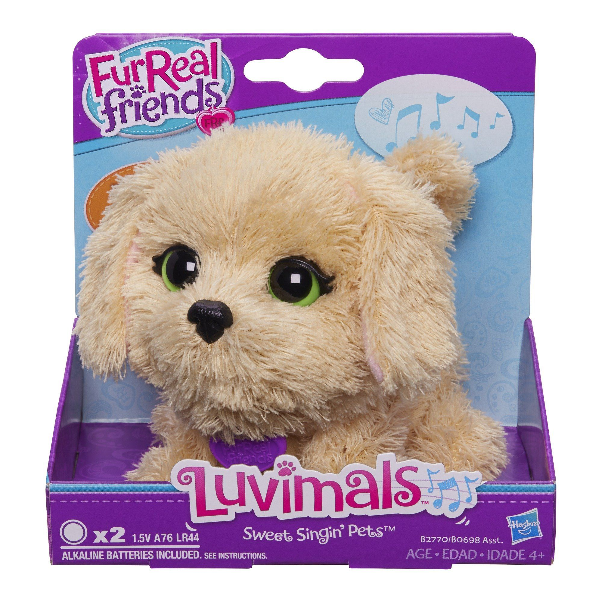 Furreal Friends Luvimals Sweet Singina Biscuit Pet Check