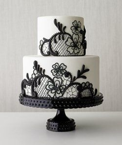 Do you like a touch of chocolate on your wedding cake? A black wedding cake is one of the most delicious wedding cake in the house. The essence...