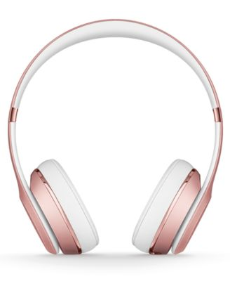 Beats By Dr Dre Solo3 Noise Cancelling Bluetooth Wireless Headphones Reviews Gifts Games Men Macy S Wireless Headphones Headphones Bluetooth Headphones