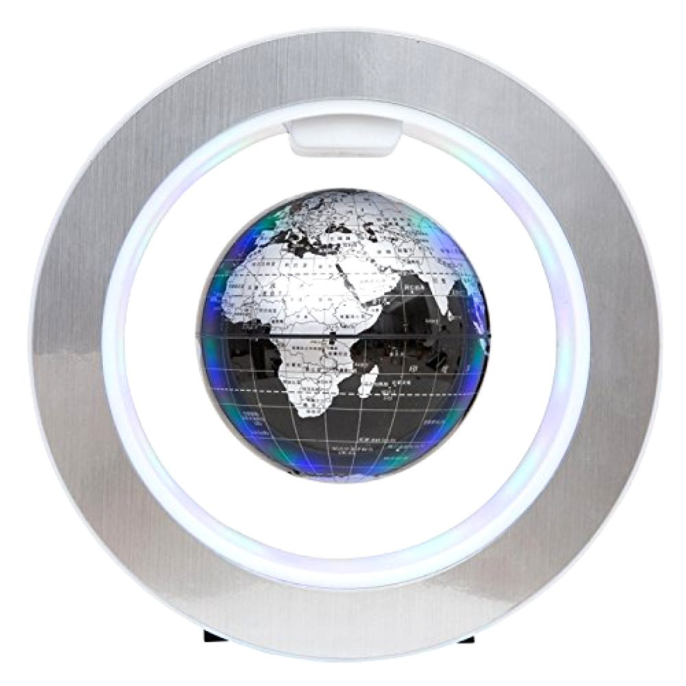 Floating globe world map 4inch rotating magnetic mysteriously floating globe world map 4inch rotating magnetic mysteriously suspended in air gumiabroncs Gallery