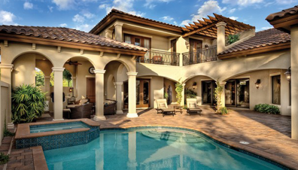 mediterranean style houses by the sea Google Search idias de