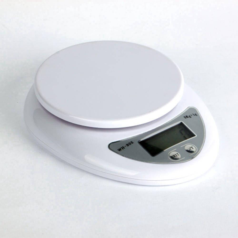 5 kg 5000g/1g Digital Küche-nahrungsmitteldiät-postskala ...