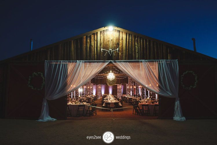 Country arizona outdoor wedding venue desert foothills