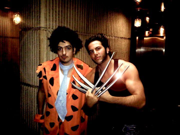 Wolverine #Flintstones #Halloween Costume Halloween Costume Ideas - halloween costumes with beards ideas