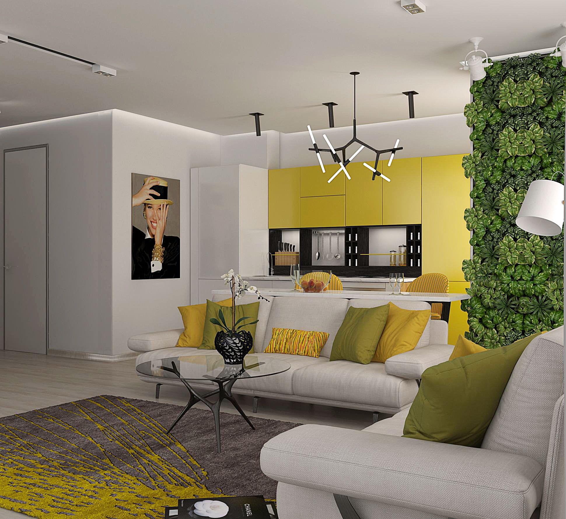Modern Style Living Room By Victoria Semenets Interior Design