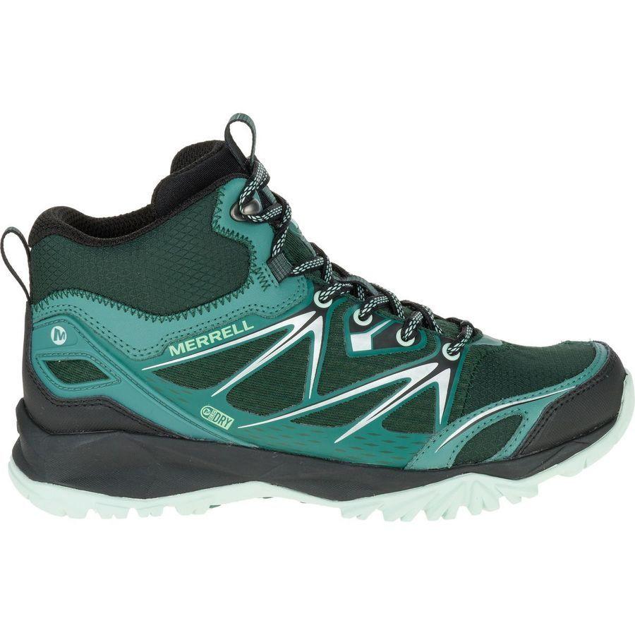 Merrell Capra Capra Merrell Bolt Mid Waterproof Hiking Boot Damens's Pine 1aa373