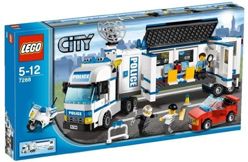 sale preis lego city 7288 polizei truck gutscheine. Black Bedroom Furniture Sets. Home Design Ideas