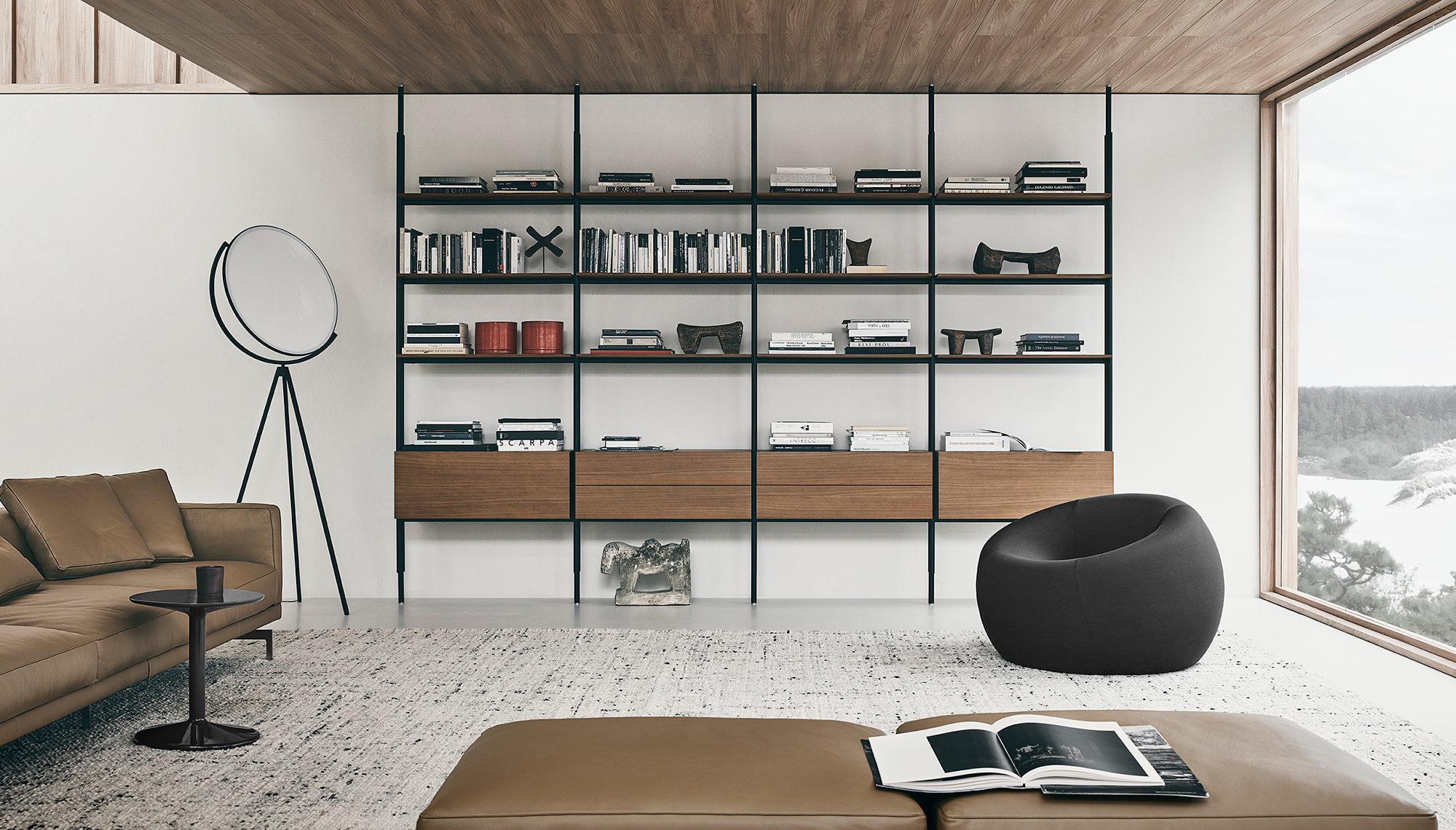 Sofa Dock B B Italia Design Of Piero Lissoni Contemporary Furniture Design B B Italia Italia Design