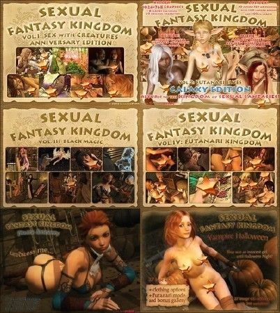 Sexual fantasy kingdom королевство сексуальных фантазий