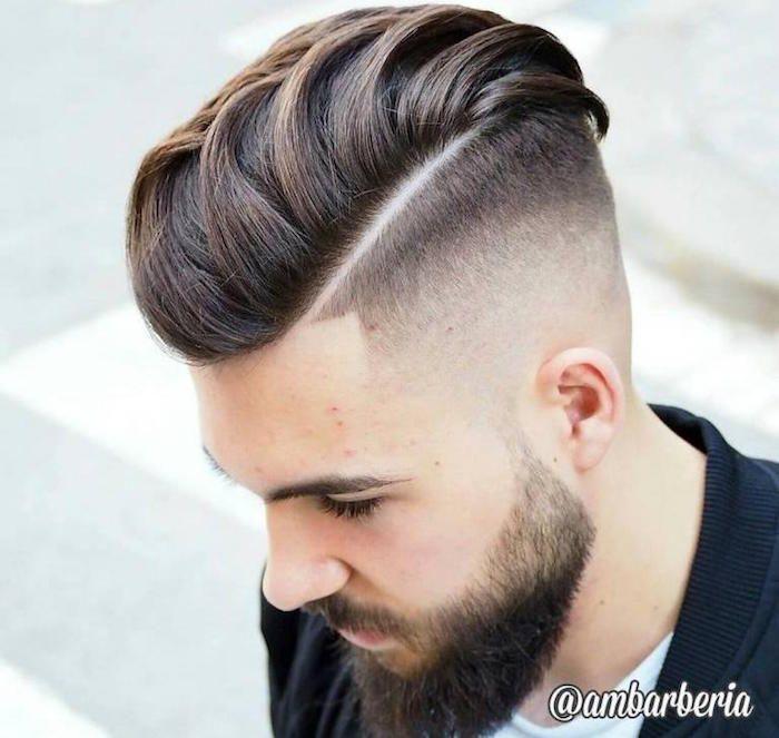 Coupe pompadour u2013 le vintage en tête Corte de cabello, Corte de