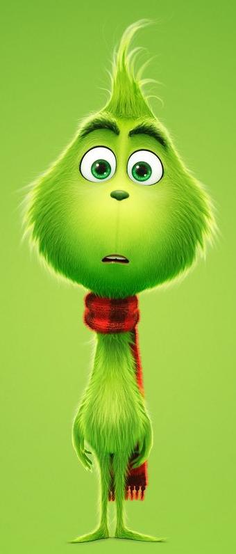 The Grinch (2018) Grinch, Cute christmas wallpaper