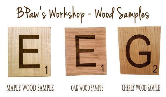 Scrabble Letters Large Individual Tiles By BPawsWorkshop