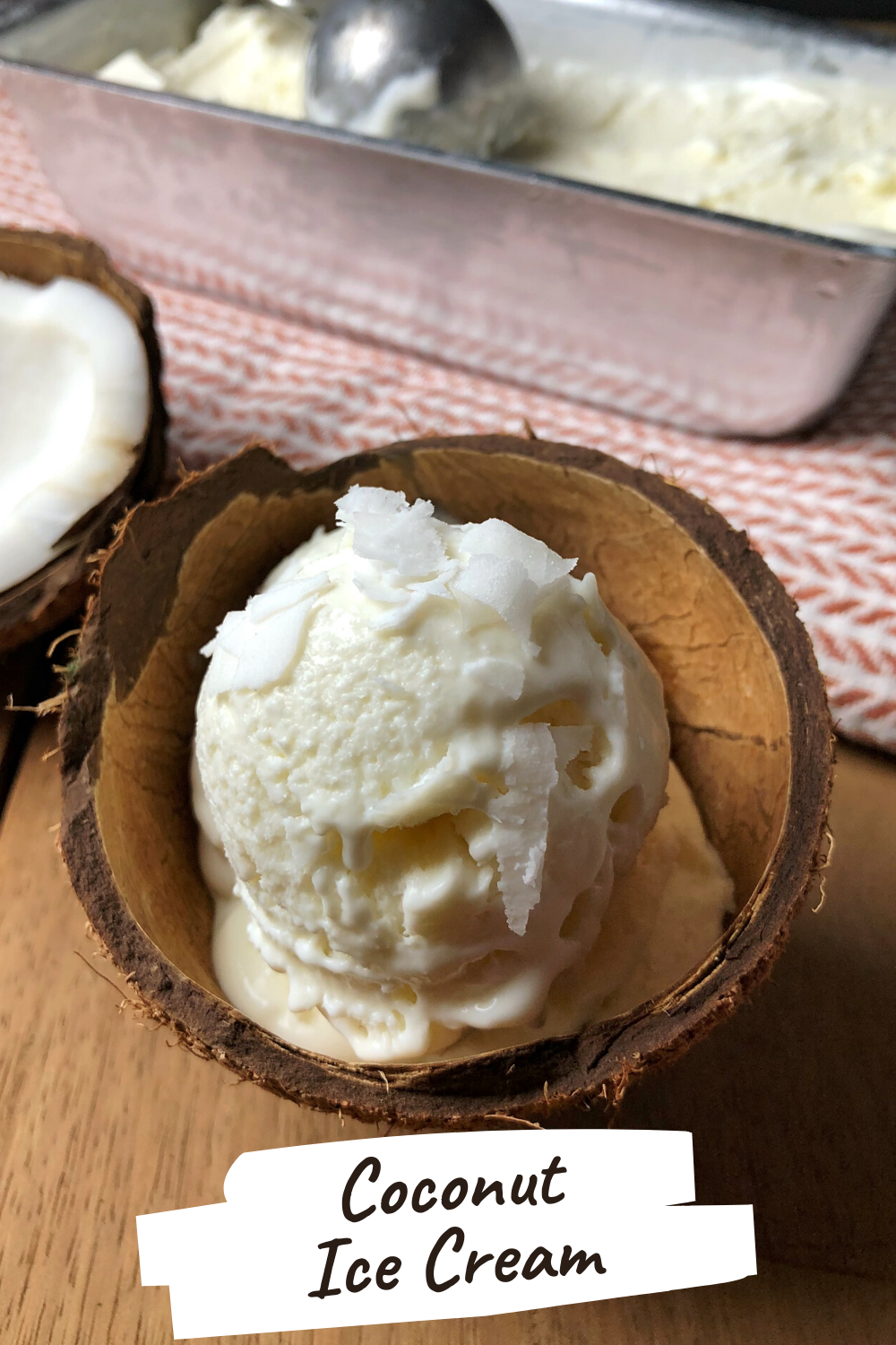 Coconut Ice Cream Tempting Treat Recipe In 2020 Coconut Ice Cream Homemade Ice Cream Ice Cream