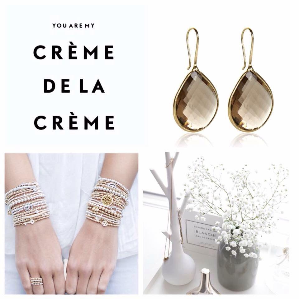 Pscallme jewerly with pure gold. You are my crème de la crème.