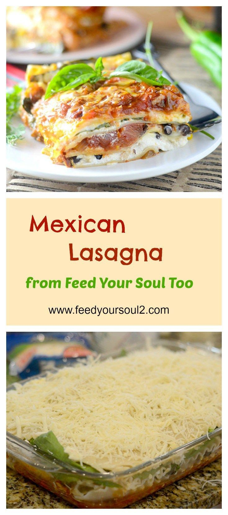 Mexican lasagna recipe mexicans mexican recipes and pasta mexican food recipes mexican lasagna from feed your soul too forumfinder Choice Image