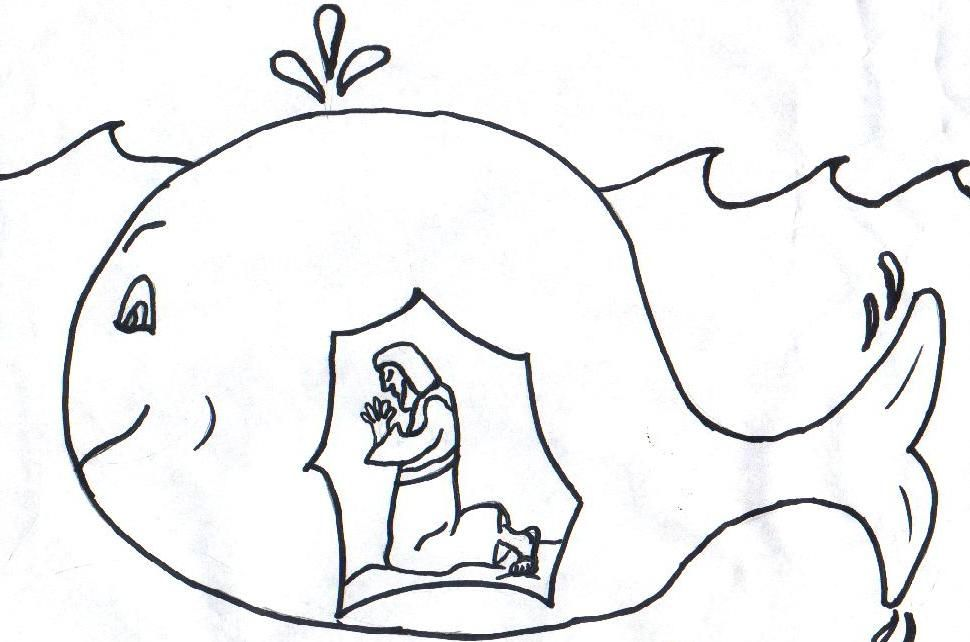 Jonah Coloring Pages | Jonah and the Whale | Jonah prophet ...