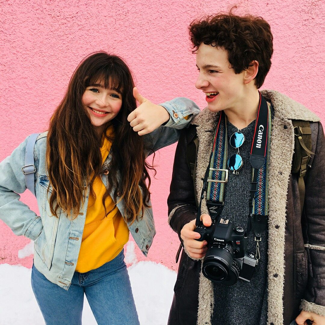 Malina Weissman And Louis Hynes With Images A Series Of