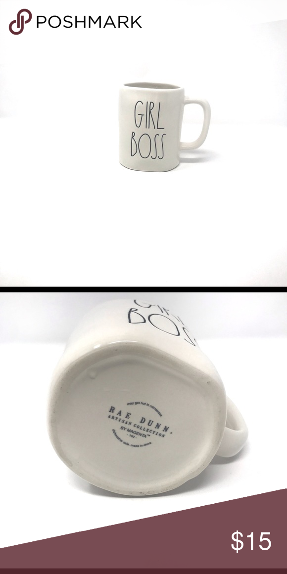 Brand New Rae Dunn Girl Boss Coffee Tea Mug Drink to the girl boss in you!!! Rae Dunn Other #bosscoffee Brand New Rae Dunn Girl Boss Coffee Tea Mug Drink to the girl boss in you!!! Rae Dunn Other #bosscoffee
